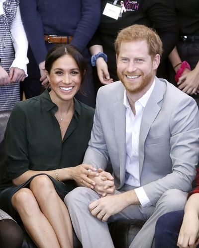 Prince Harry and Meghan Markle visit the region of Sussex, October 2018