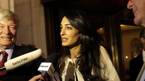 Amal Clooney 'risked arrest' after identifying flaws relating to Peter Greste case