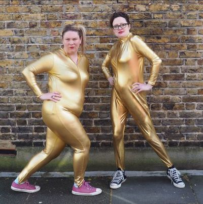 "<p>Ellie Gibson and Helen Thorn are mums - real mums - and they don't care who knows it.</p> <p>The duo, who host the podcast <a href=""http://www.scummymummies.com/podcast"" target=""_blank"">Scummy Mummies</a> and co-wrote a book of the same name, are all about truth in parenting. That is, they tell it like it is, stretch marks and all. And we love every moment.</p> <p>At a time when reams of research shows that pregnant women and mothers are negatively impacted by the perfection we see on social media, where celebrity parents show off their impossibly glamorous lives from every angle, the <a href=""http://www.scummymummies.com/"" target=""_blank"">Scummy Mummies</a> are a much-needed breath of pizza-scented air.</p> <p>Like the sound of that? Click through and see these two honest, raw, real mamas in the average urban parent's environment - a little bit grubby, a touch gross and a whole lot of fun.</p>"