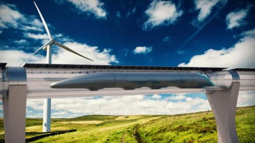 There are plans to build  a hyperloop transport system by the late 2020s. (Supplied)