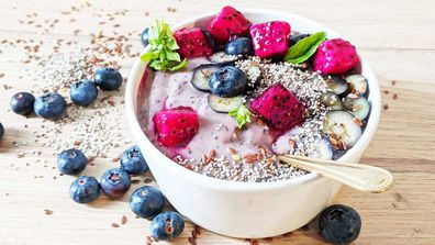 Smoothie bowls are all about presentation