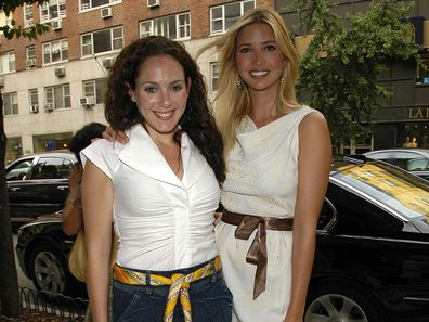 """NEW YORK CITY, NY - JUNE 25: Lysandra Ohrstrom and Ivanka Trump attend Book Party for """"Off The Record"""" by NORMAN PEARLSTINE at Arader Galleries on June 25, 2007 in New York City. (Photo by Patrick McMullan/Patrick McMullan via Getty Images)"""