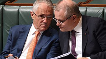 Malcolm Turnbull and Scott Morrison (AAP)