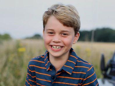 Prince George's birthday photo
