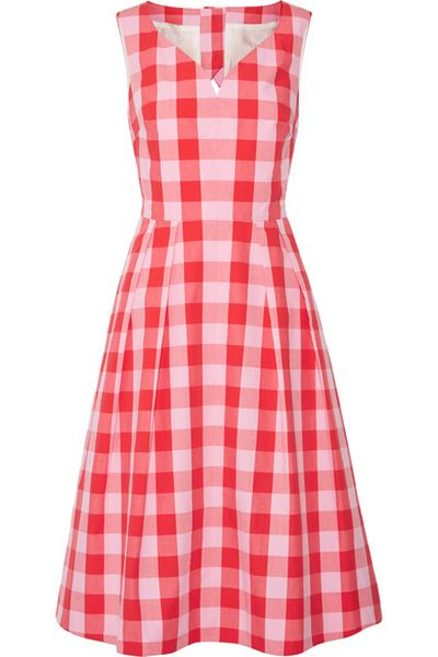 "<p>Picnic perfect</p> <p>Draper James cut-out Gingham dress, $516.06 at<a href=""https://www.net-a-porter.com/au/en/product/842129/Draper_James/cutout-gingham-cotton-poplin-dress"" target=""_blank"" draggable=""false""> Net-a-porter<br> </a></p>"