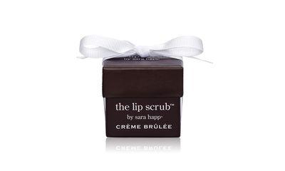 "<a href=""http://www.sephora.com.au/products/sara-happ-creme-brulee-lip-scrub"" target=""_blank"" draggable=""false"">The Lip Scrub in Crème Brulee, $40, Sara Happ</a>"