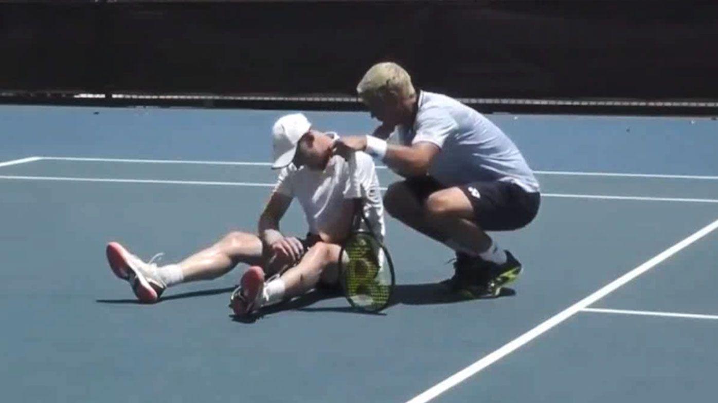 Alex Bolt's sportsmanship for fellow Aussie Blake Mott after Australian Open wildcard tragedy