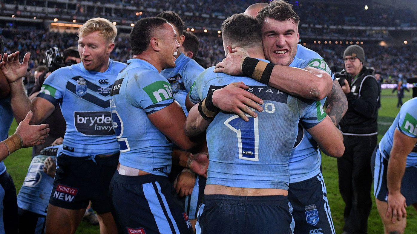 State of Origin 2018: Peter Sterling laments decision not to award NSW shield at home after series clinching victory