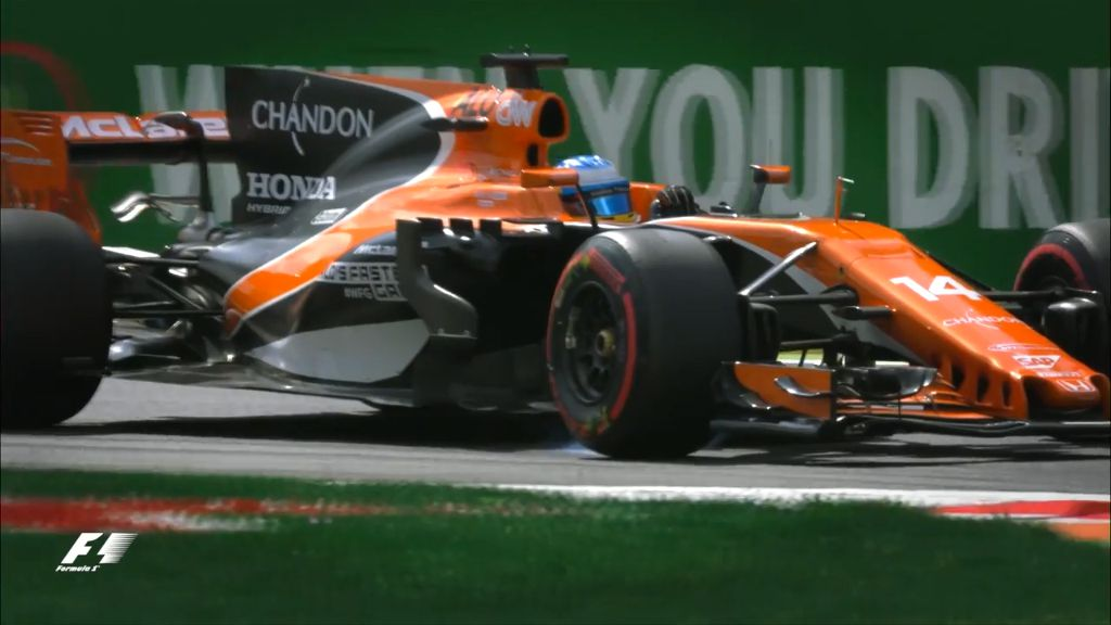 Alonso's 35-place penalty for Italian F1