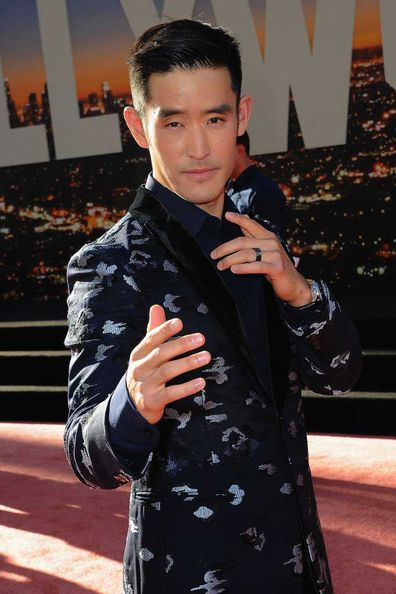Mike Moh at the premiere for Once Upon a Time in Hollywood.