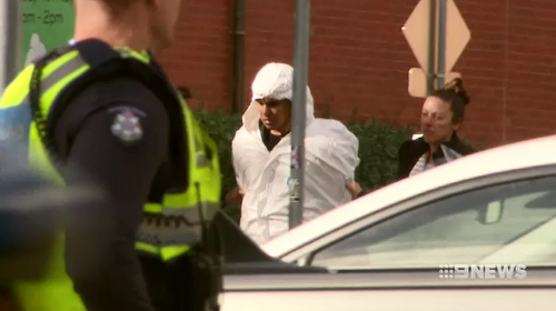 A man and woman are in police custody assisting with enquiries after a terror operation this afternoon.