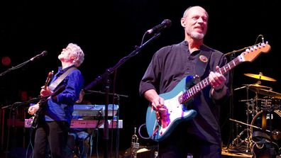 Paul Barerre performs with Little Feat in 2013.