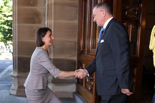 NSW election: Gladys Berejiklian meets governor Michael