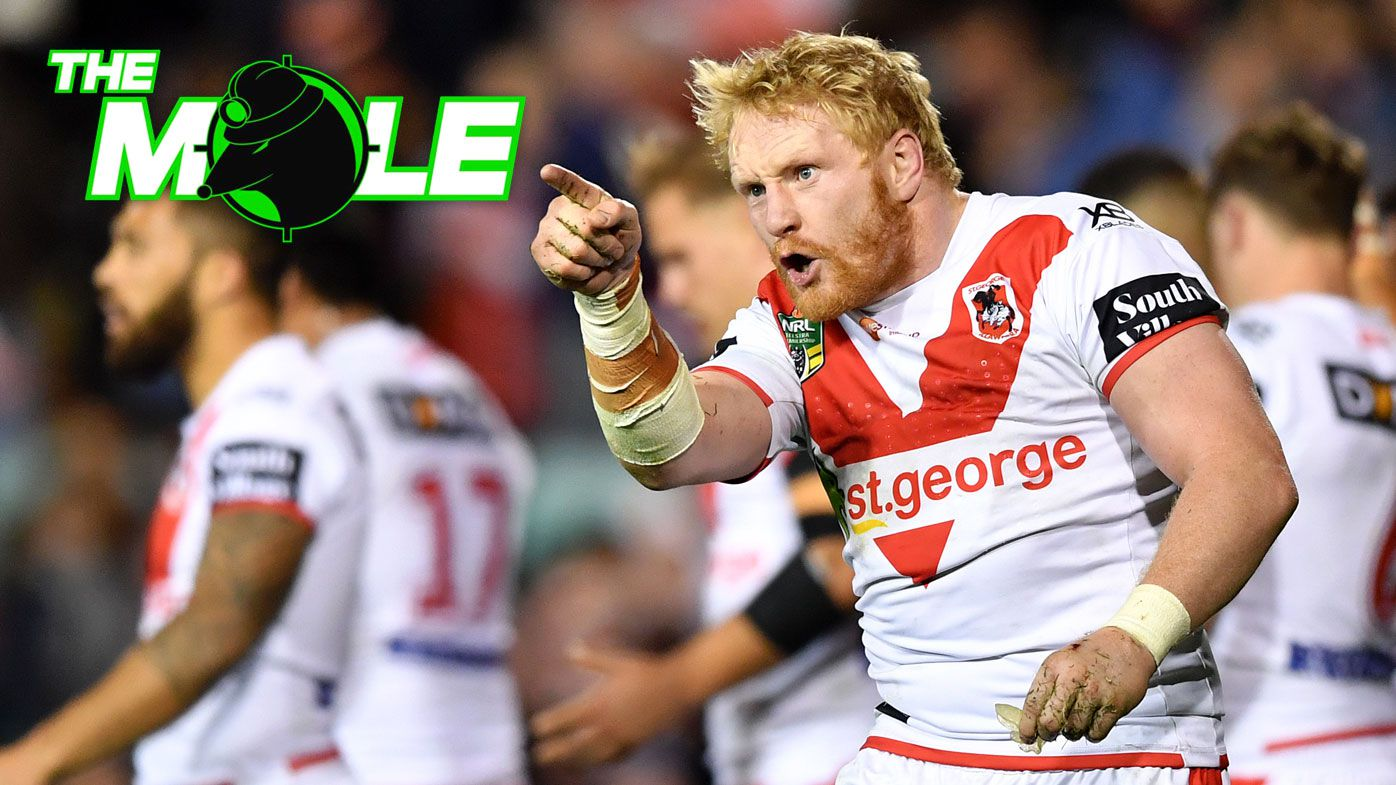 The Mole: Dragons players James Graham, Matt Dufty in dressing room blow-up