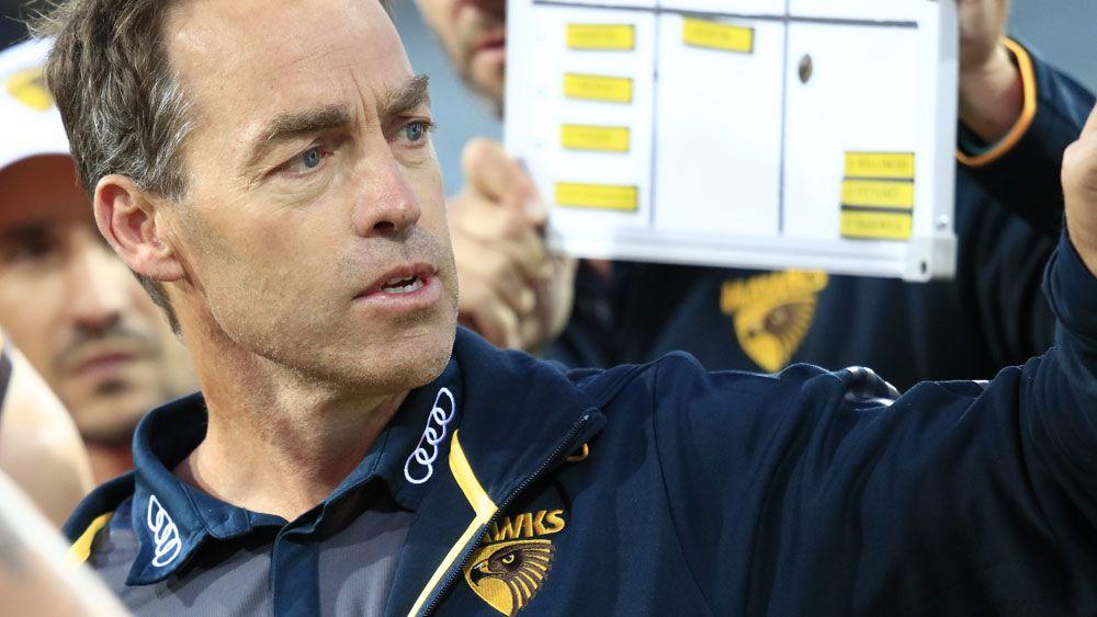 Hawthorn coach Alastair Clarkson. (AAP)