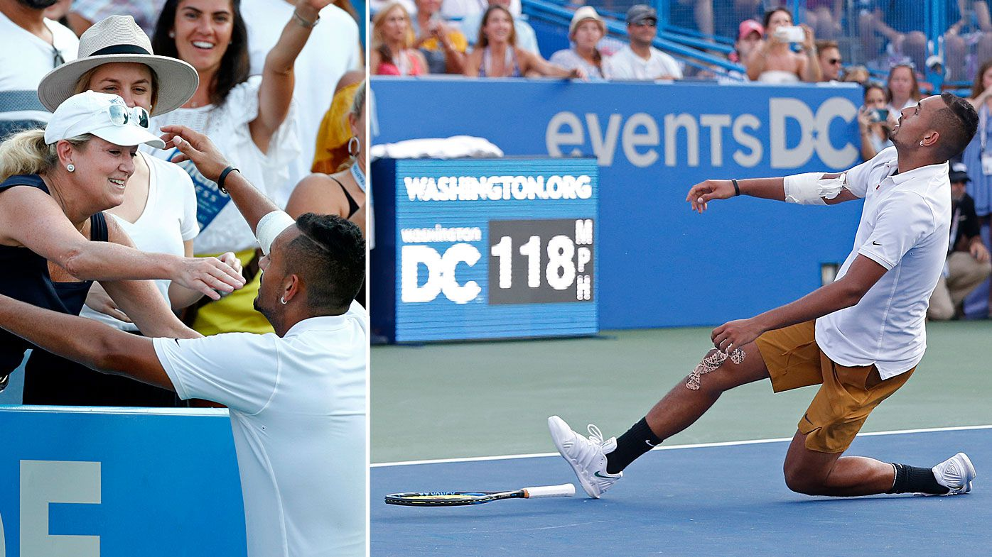 'I've made massive strides': Nick Kyrgios wins Washington Open final