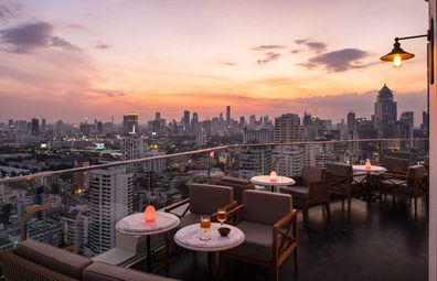 Belga Rooftop Bar & Brasserie at Sofitel Bangkok
