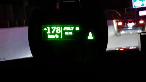 International student fined $2482 after being clocked at 190km/h