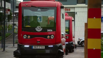 Australian transport officials have travelled to Sweden to look at getting driverless buses brought to our shores.