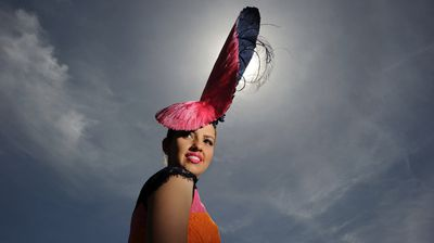Oaks Day: Alice Anderson at Fashions on the Field (AAP)