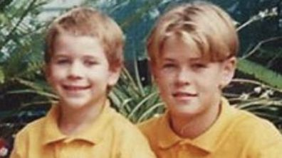 Chris Hemsworth and Liam Hemsworth, throwback photo, Instagram