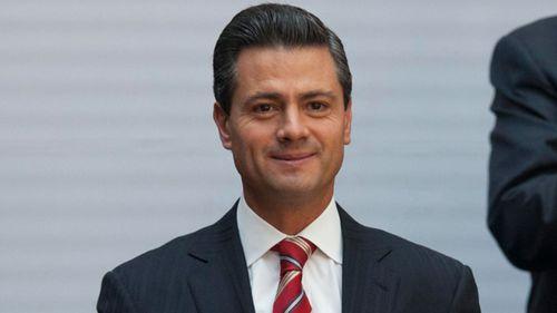 Former Mexico President Enrique Pena Nieto.