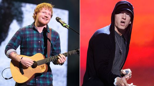 Ed Sheeran says Eminem songs helped him overcome his stutter