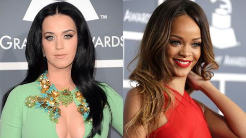 2013 Grammys: What wardrobe memo? Stars get their boobs out on red carpet
