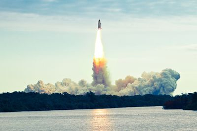 <strong>3. Space shuttle launch &ndash; Titusville, Florida, USA</strong>
