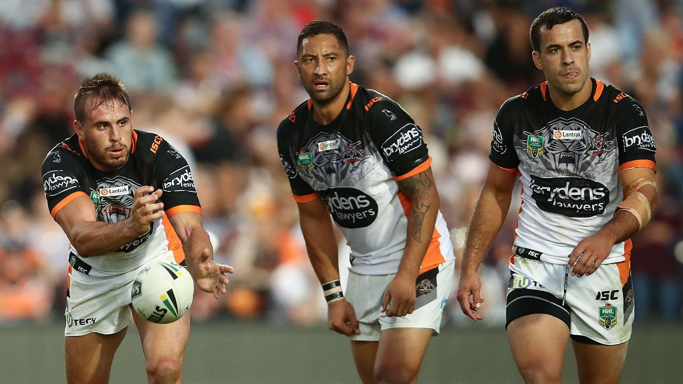 Tigers' Reynolds out for NRL season