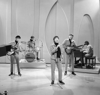 The Animals perform on The Ed Sullivan Show in 1966