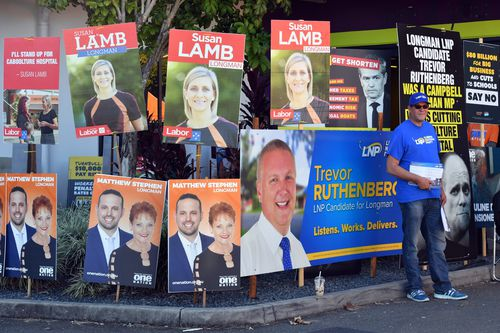 Labor has also been spending up big on TV and radio advertising in Queensland. Picture: AAP