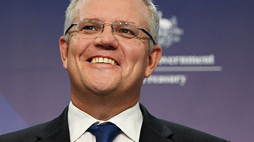 Treasurer Scott Morrison. (AAP)