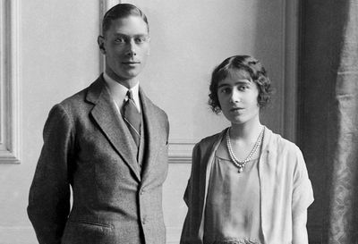 King George VI and Elizabeth, the Queen Mother