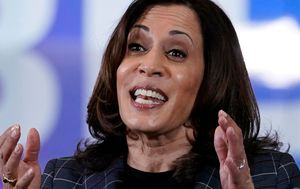 US Democratic VP nominee Kamala Harris suspends travel after two people test positive for COVID-19