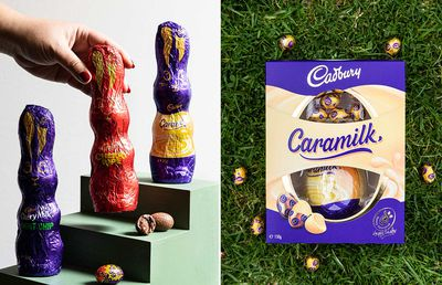 Cadbury just dropped an entire Caramilk Easter range