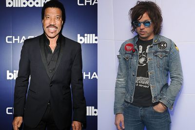 It's not a celebrity wedding without superstar performers... and Ryan Adams and Lionel Richie sure fit the bill. Lionel, father of bridesmaid Nicole Richie, performed his classic 'Easy' on the piano. DJ to the stars, Patrick Belton, pumped hits from Pharrell, Jessie J, Rihanna and Bruno Mars.