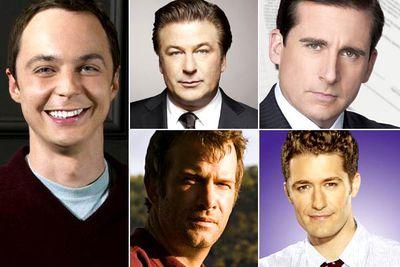 Jim Parsons &mdash; <I>The Big Bang Theory</I><br/>Alec Baldwin &mdash; <I>30 Rock</I><br/>Steve Carell &mdash; <I>The Office</I><br/>Thomas Jane &mdash; <I>Hung</I><br/>Matthew Morrison &mdash; <I>Glee</I><br/><br/><b>TVFIX prediction:</b> The HFPA <i>loves</i> giving this award to Alec Baldwin. Maybe he'll get it again. Then again, Jim Parsons recently won the equivalent Emmy, and <i>Big Bang</i> is super-popular, so it'll probably be him again.