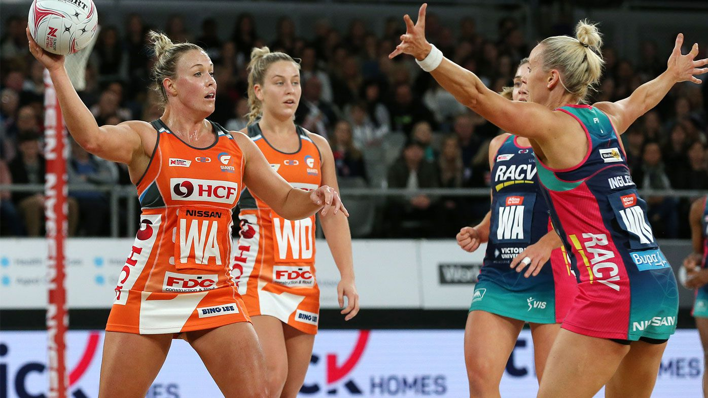 Netball: GWS Giants score vital victory over Melbourne Vixens
