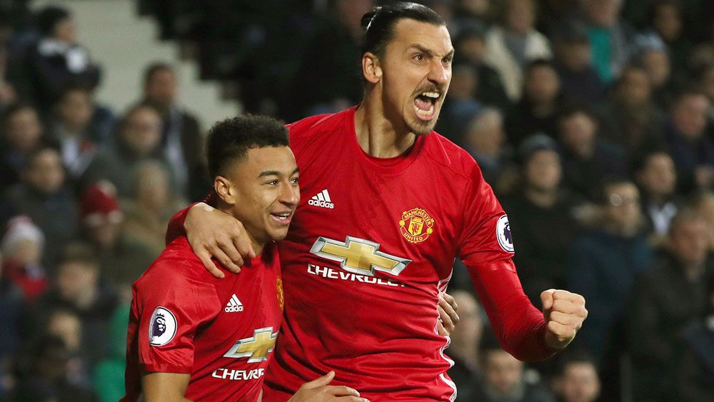 Zlatan Ibrahimovic has made a great start to life at Manchester United. (AAP)