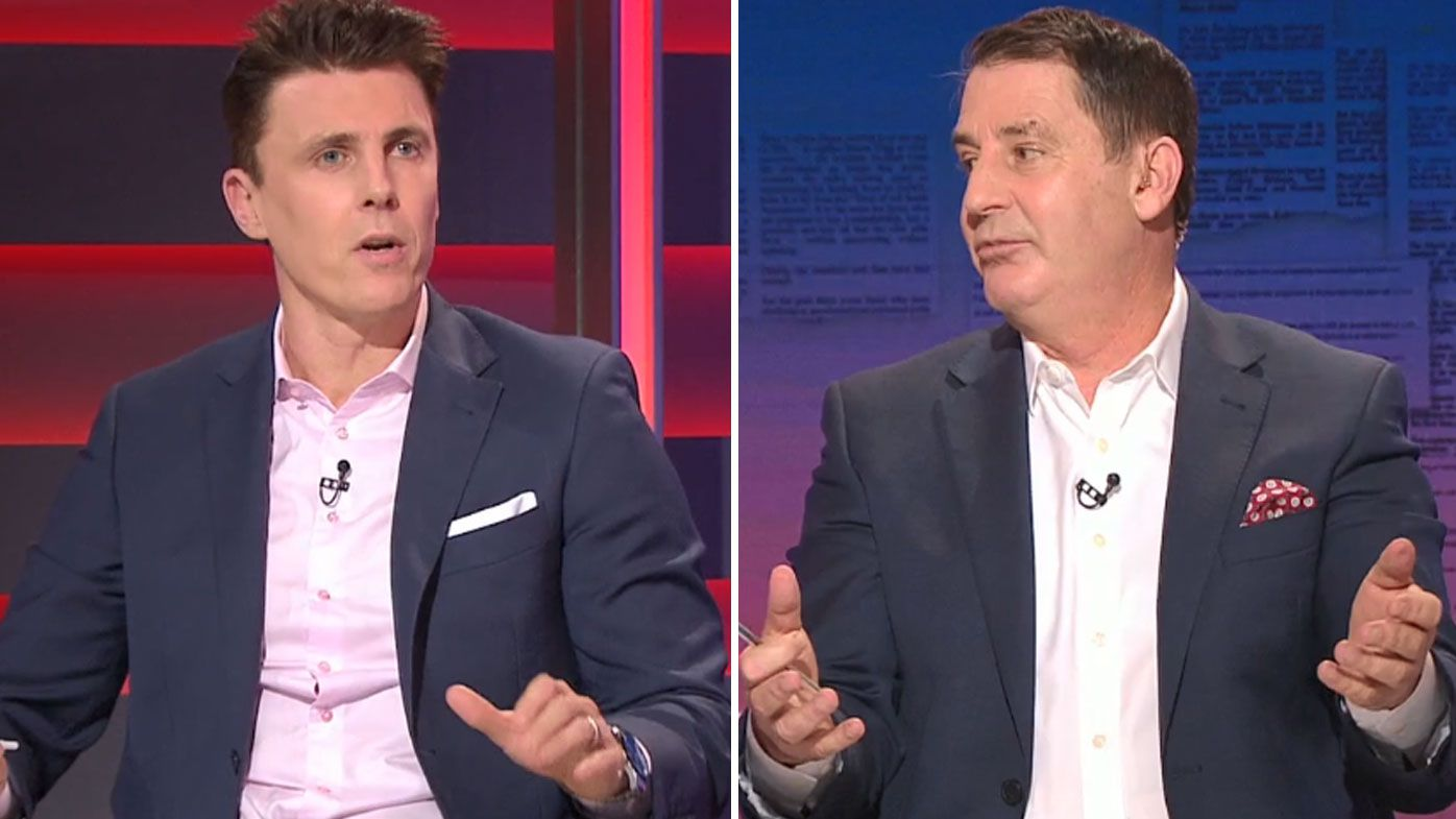 Matthew Lloyd and Ross Lyon slam 'crazy' deliberate out-of-bounds rule change proposal