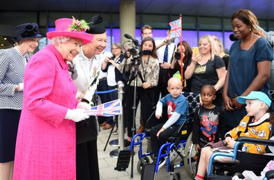 Queen says she is perfectly capable of planning a tree