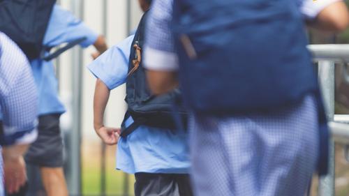 Kids students school Today logo