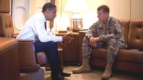 Barack Obama fired Stanley McChrystal in 2010