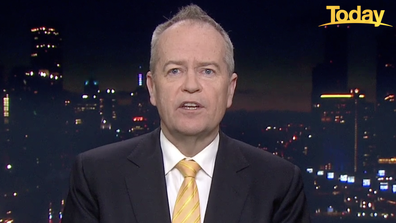 Bill Shorten said the only way for Australia to move forward is through vaccinations.
