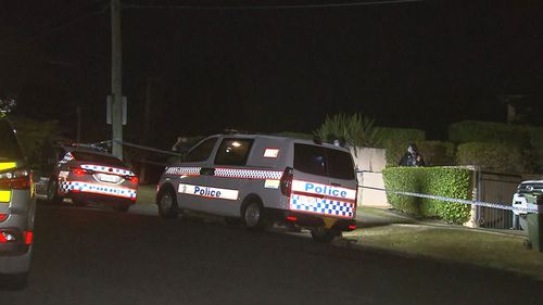 Queensland Police said a number of males were disturbed breaking into Toutai Kefu's home, where a 'violent altercation' left four members of the house injured.