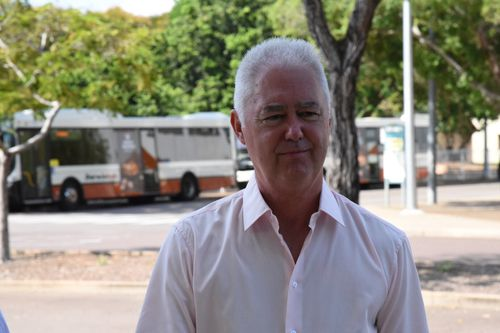 John McRoberts faced a Northern Territory court today, charged with attempting to pervert the course of justice. (AAP)