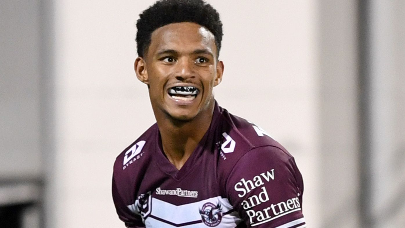 'Go you good thing!': Manly speedster Jason Saab's booming grin on the fly lights up Queensland