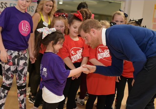 Prince Harry is becoming more popular among his young fans. (AAP)