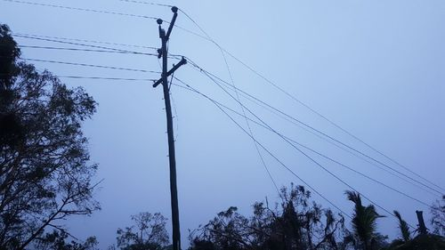 Powerlines have also been damaged amid the gale-force gusts. (Supplied)